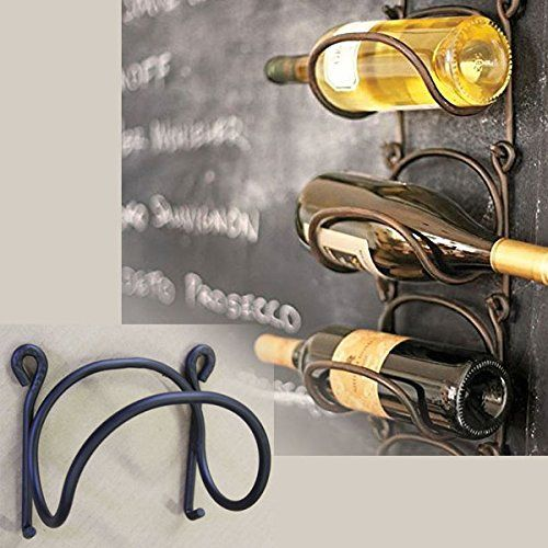 Wine Racks Wrought Iron Wine Bottle Rack Modular Wall Mounted