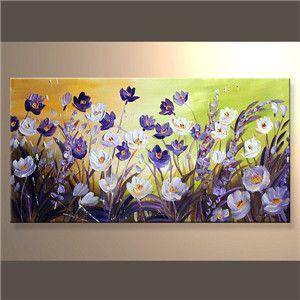 Pinturas al oleo de flores abstractas pesquisa google cuadros pinterest acryliques - Tuto peinture abstraite contemporaine ...