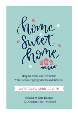 Warming Welcome Free Housewarming Invitation Template Greetings