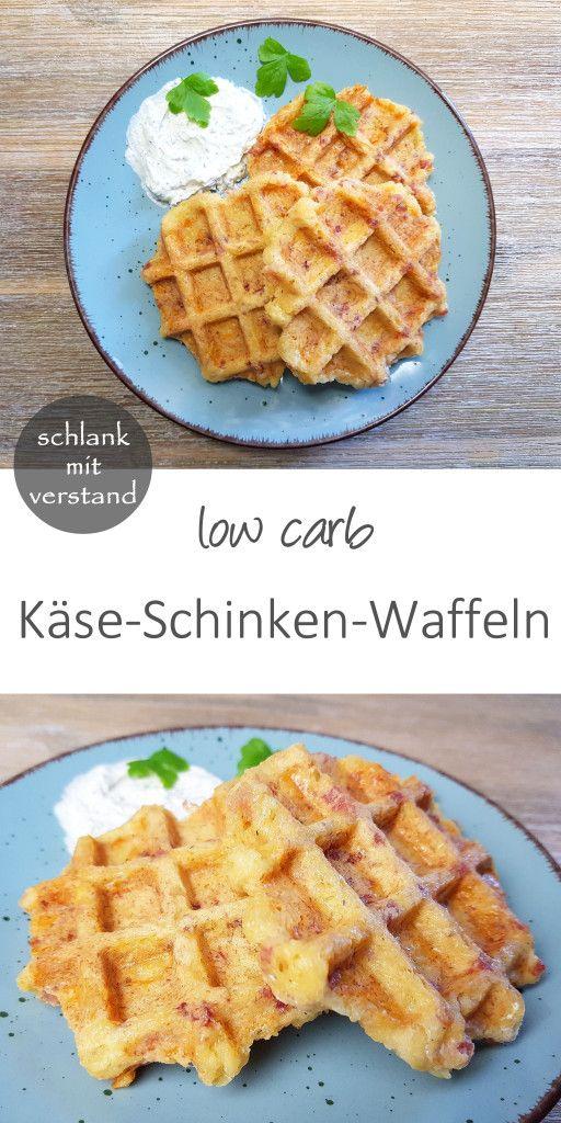Käse-Schinken-Waffeln low carb | Fixe Gerichte | Waffeln ...
