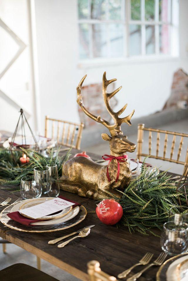 Christmas Wedding Ideas Christmas Wedding Table Christmas Wedding Christmas Table Centerpieces