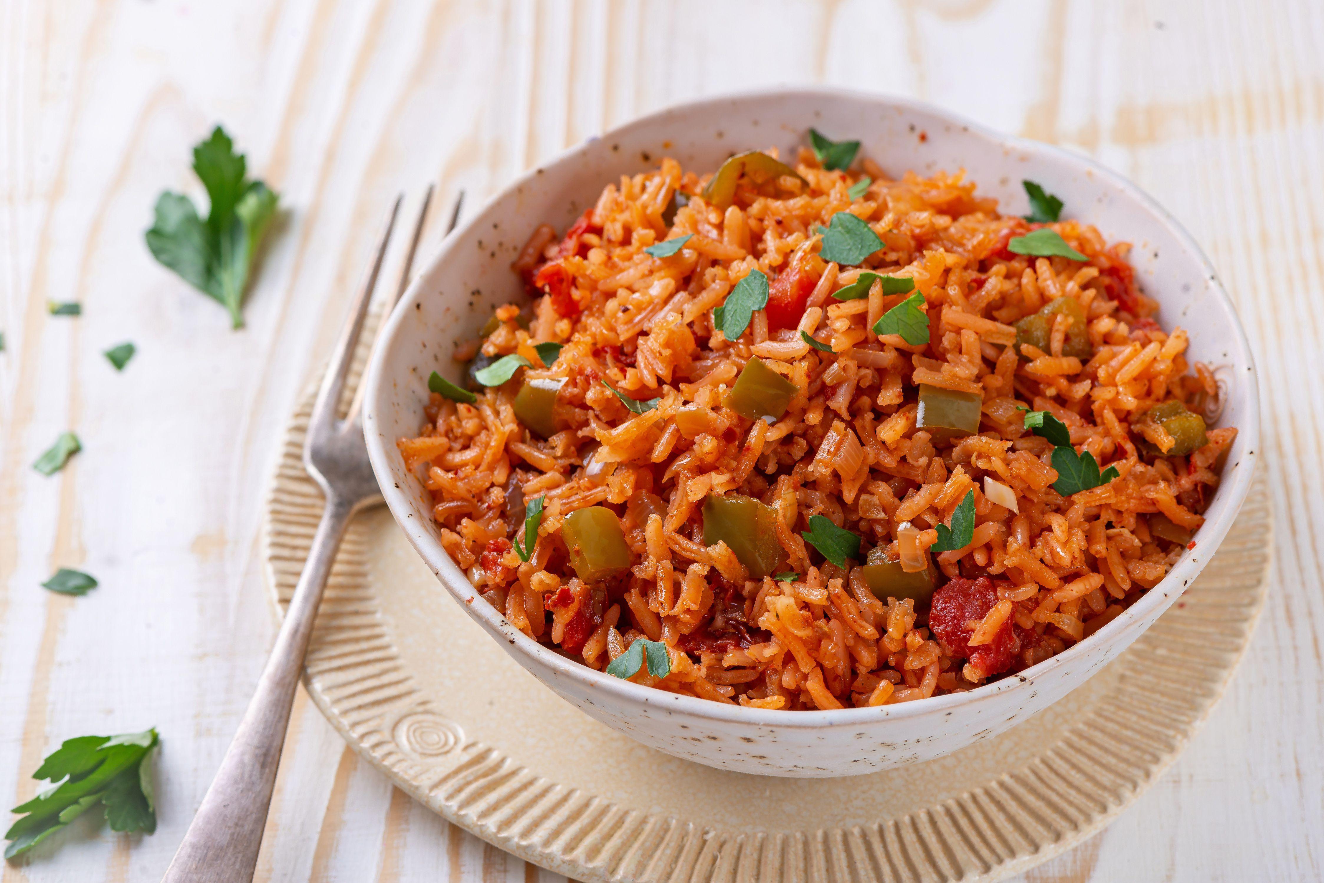 A Simple 5 Step Recipe For Mexican Rice Recipe Leftovers Recipes Pork Recipes Pork Roast