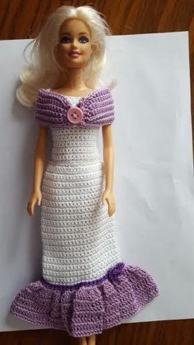 Barbie Doll Clothes Crochet New Handmade | Barbie, Ganchillo y Muñecas