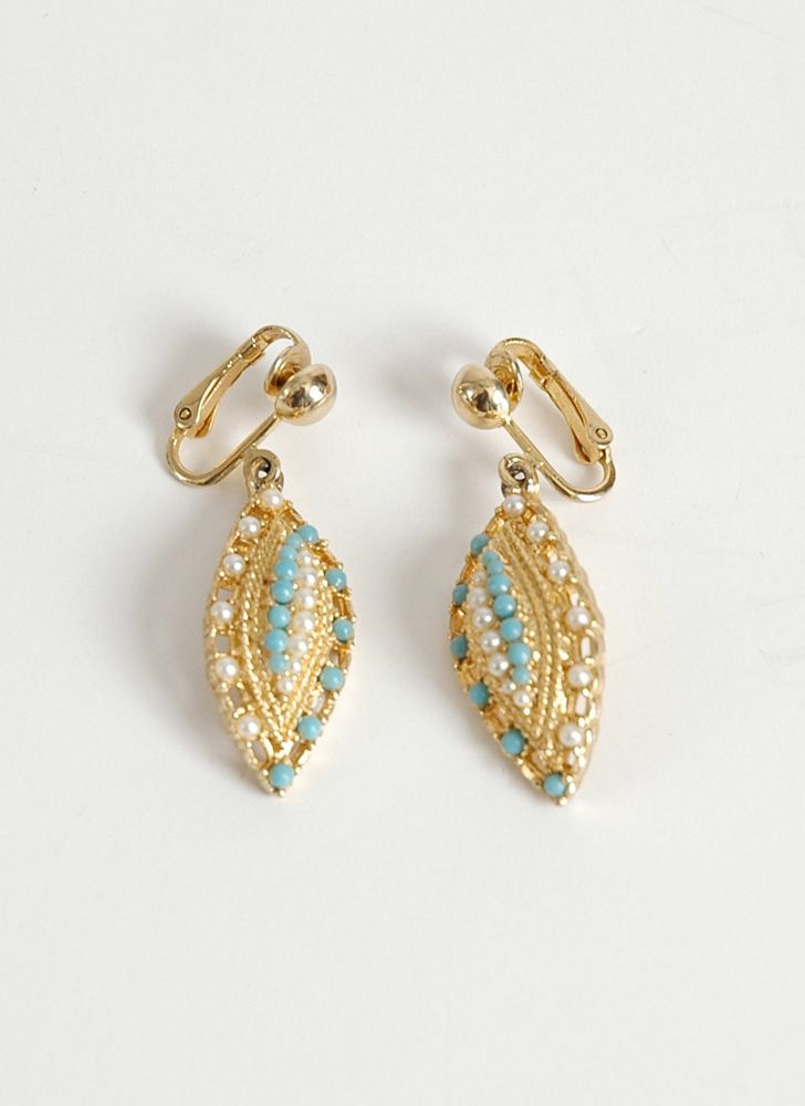 1960s Sarah Coventry Ocean Star Earrings