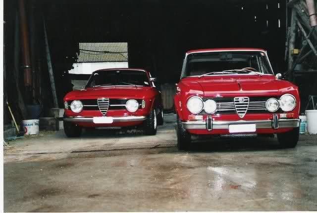 Giulia GT + Giulia Super