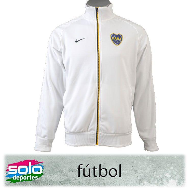 f1b748a575 Campera Boca Jrs Track Blanco Azul Marca  Nike 510020515633100  499 ...