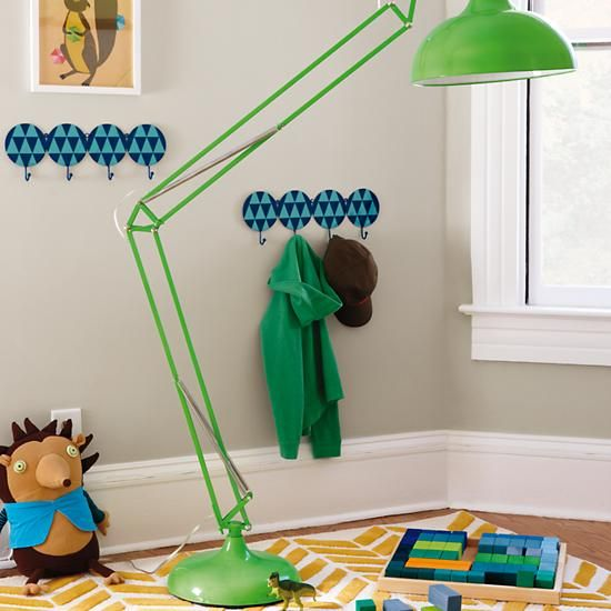 Wow, That\'s a Big Lamp (Green) in Floor Lamps | The Land of Nod ...