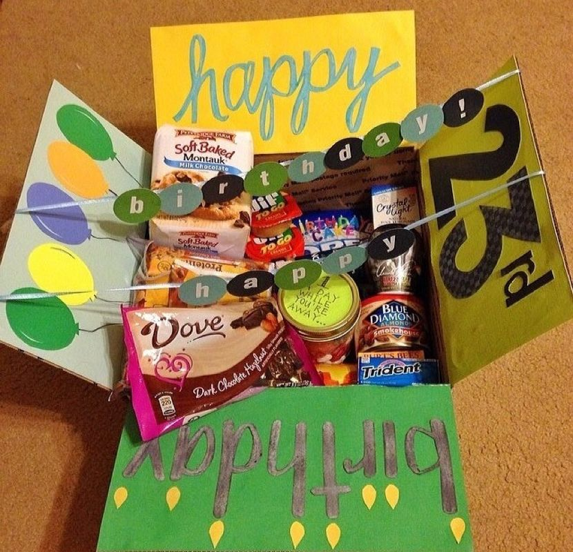 Birthday Theme Military Care Package