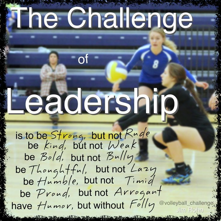 The challenge of Leadership Coaching volleyball