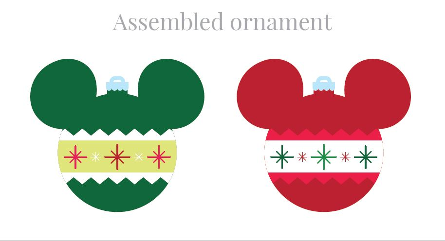 What could be better than one Christmas tree? A second one that's all about your favorite mouse couple! Create Mickey-and-Minnie-themed ornaments for a tot-sized felt tree and kids can unleash their creativity decorating it all season long.