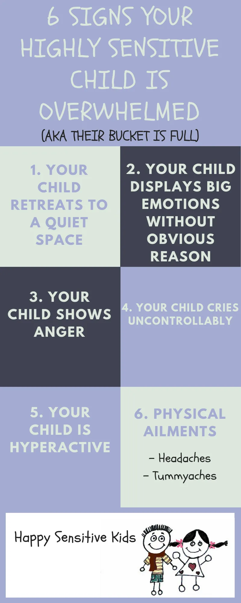 My Highly Sensitive Child is Overwhelmed. Here are 6 signs - Happy Sensitive Kids
