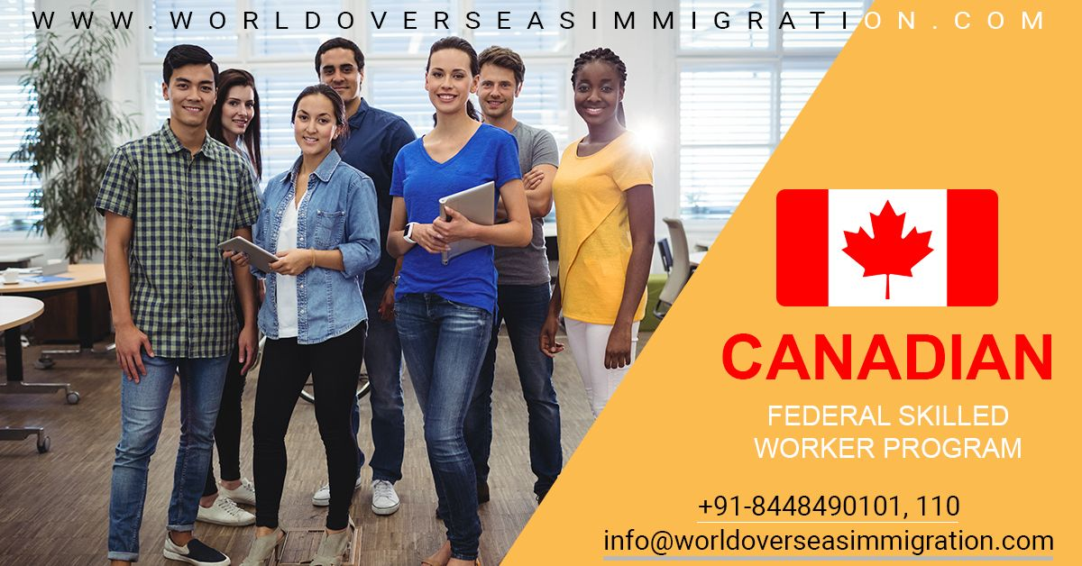Canada Federal Skilled Worker Visa With Images Federal Skilled