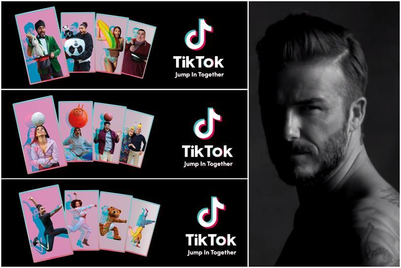 David Beckham Creates Tiktok Account As Part Of Brand S Festive Campaign Christmas Marketing Campaign Christmas Marketing Christmas Ad