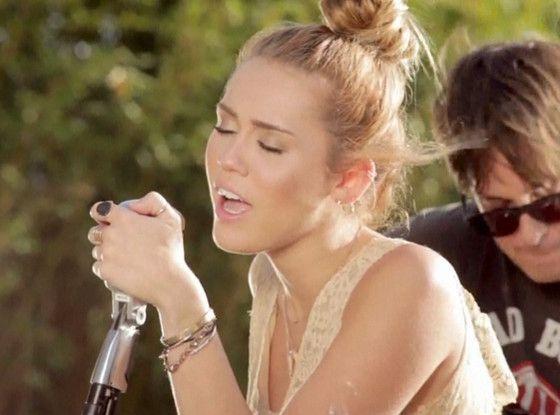 Watch Miley Cyrus' New Backyard Video! | Miley cyrus ...