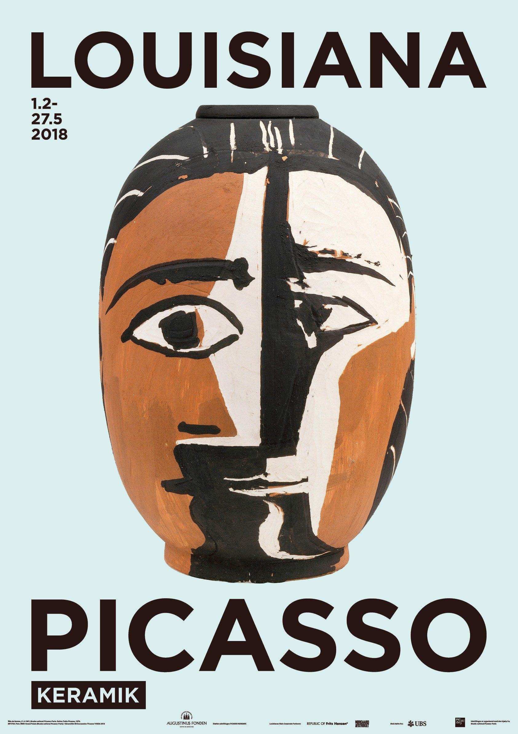 Picasso Louisiana Kvindehoved Art Exhibition Posters Museum Poster Exhibition Poster
