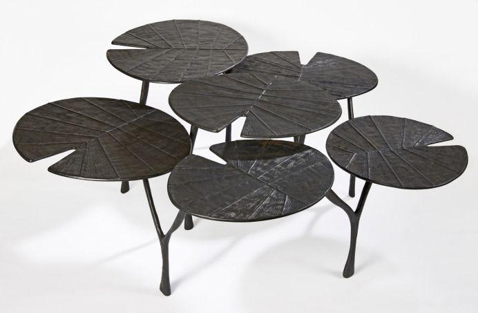 Table Basse Lotus De Franck Evennou A La Galerie Avant Scene