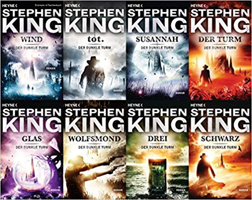 Der Dunkle Turm Band 1 2 3 4 5 6 7 8 Der Dunkel Turm Amazon De Stephen King Ba Cher Der Dunkle Turm Dunkelheit Turm