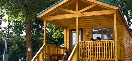 Cabins At Hershey Park Camping Resort Just 2 Miles From The Park Shuttle Service Available Basic Tent Sites Available Also Camping Resort Tent Site Resort