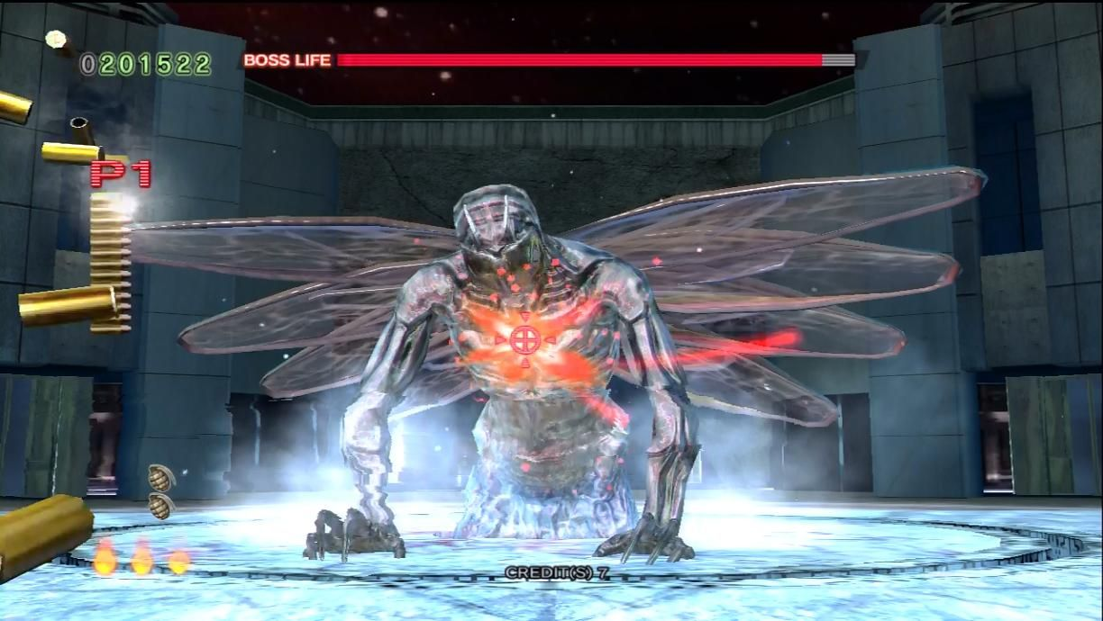 The World Boss From House Of The Dead 4 Anime Boss Life Inspiration