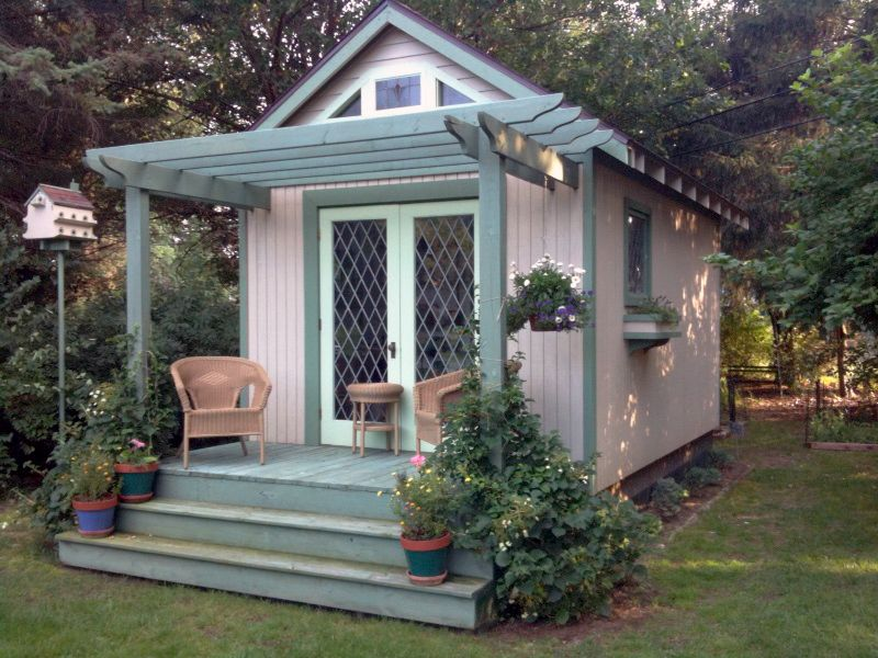 Female Man Cave Shed : She sheds are the new man caves for women simplemost