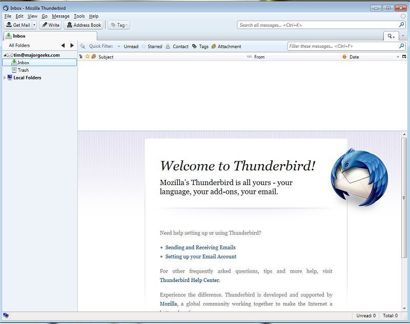 download mozilla thunderbird mail client