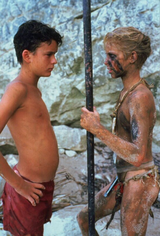 This Is An Image Of The Two Binary Characters Ralph Left And Jack Right Ideas And Inspiration For Teach Lord Of The Flies Movie Titles William Golding