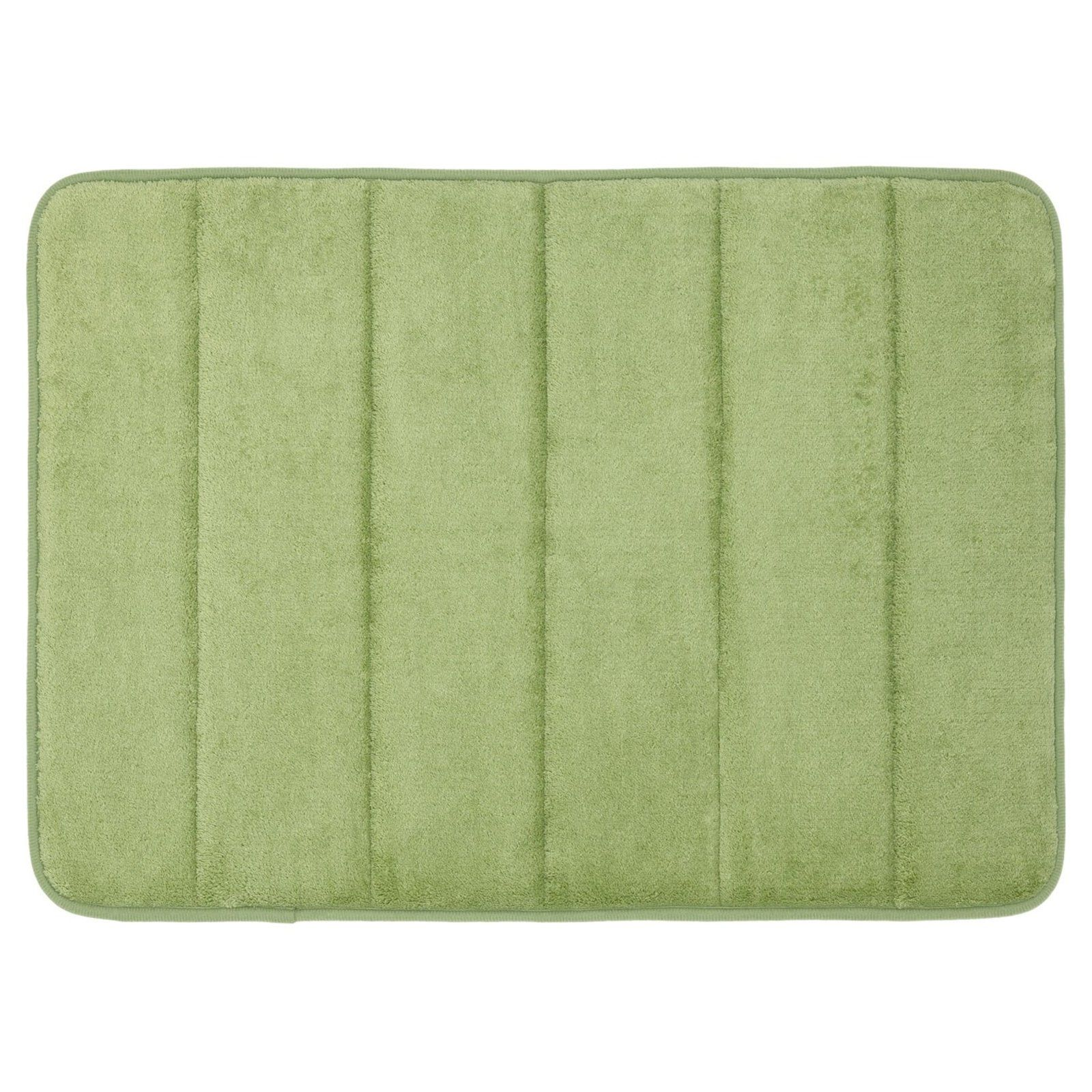 Sweet Home Collection Non Slip Memory Foam Bath Mat Sage Memory
