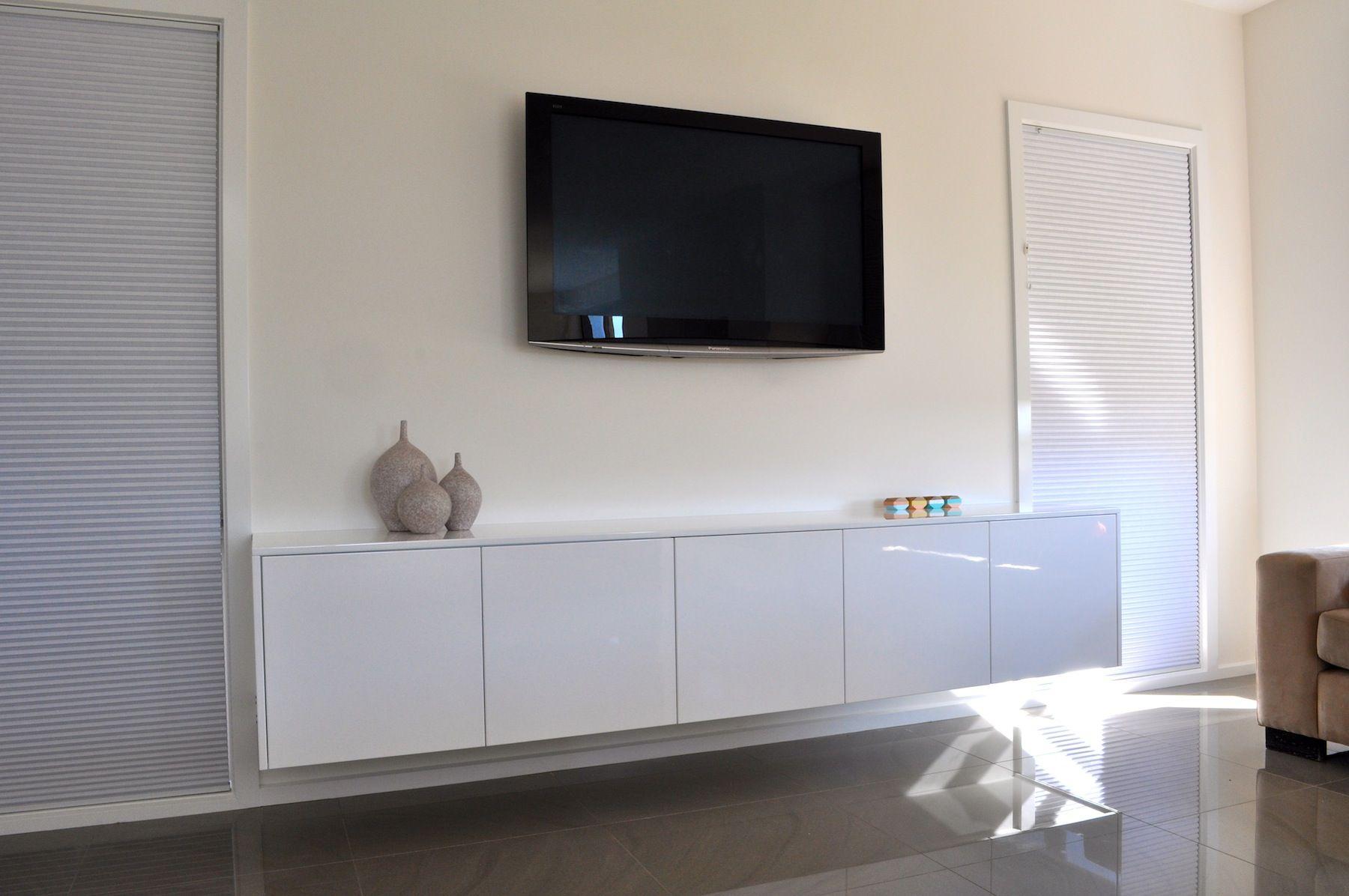 Floating TV Cabinet by Zing Furniture! #wallmounted #tvcabinet #zingfurniture