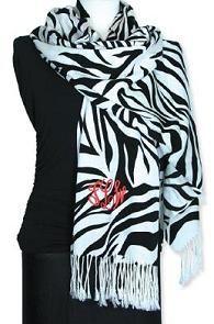 $42 Zebra Monogrammed Pashminas