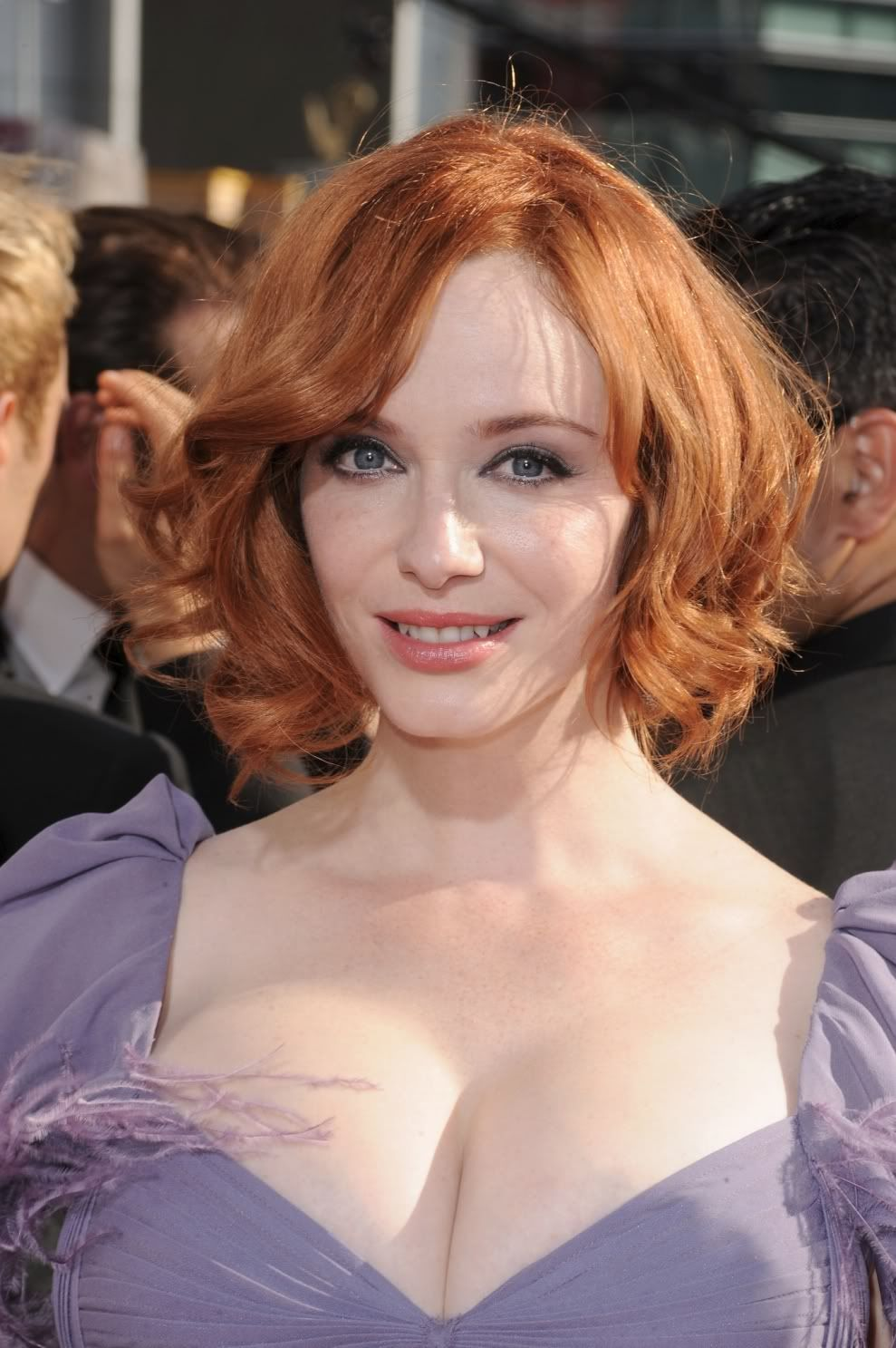 Awesome Mind Pleasing Christina Hendricks Blonde Hair Color Ideas