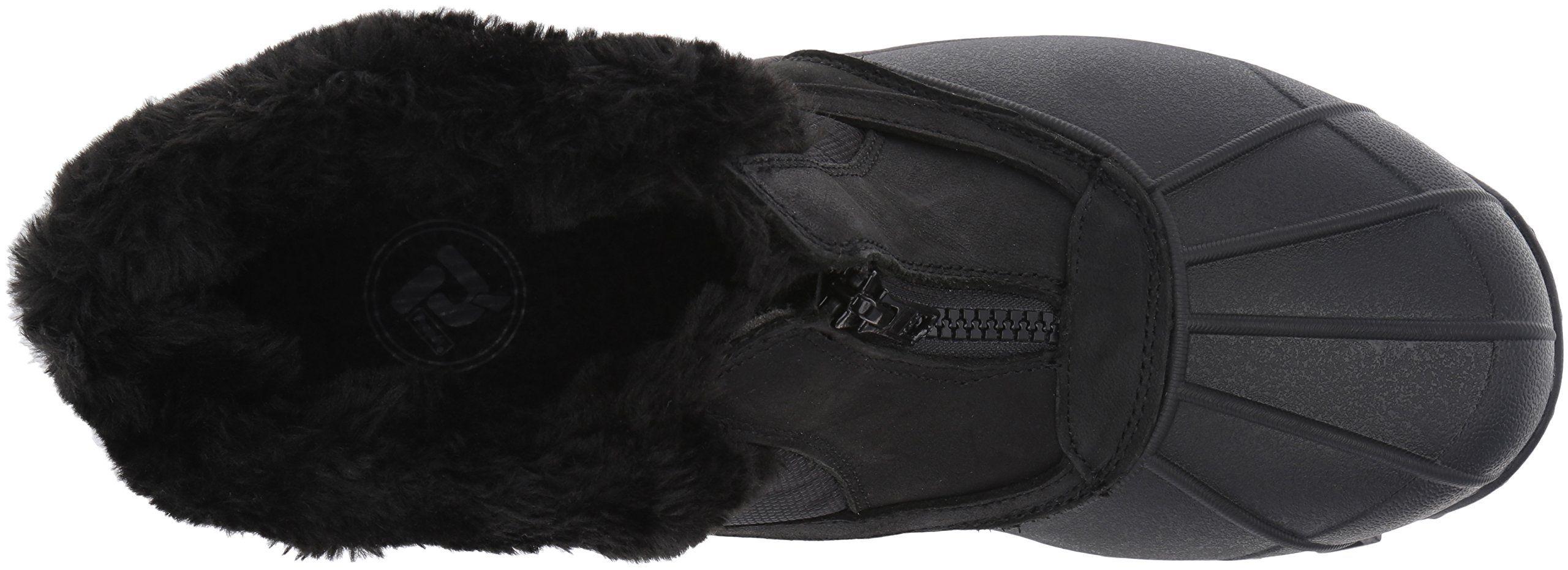 609d716714016c Propet Womens Blizzard Ankle Zip Ii Winter Boot Black Nylon 9 M US ...