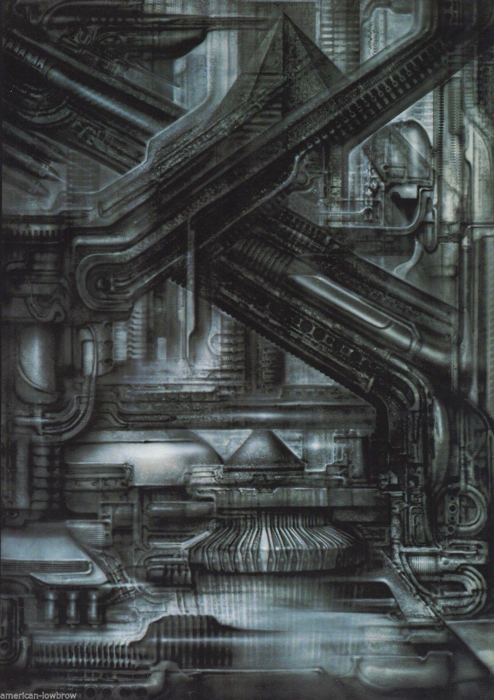 HR Giger Art Poster Print Biomechanical Landscape NYC XXIV 24 Alien Baphomet