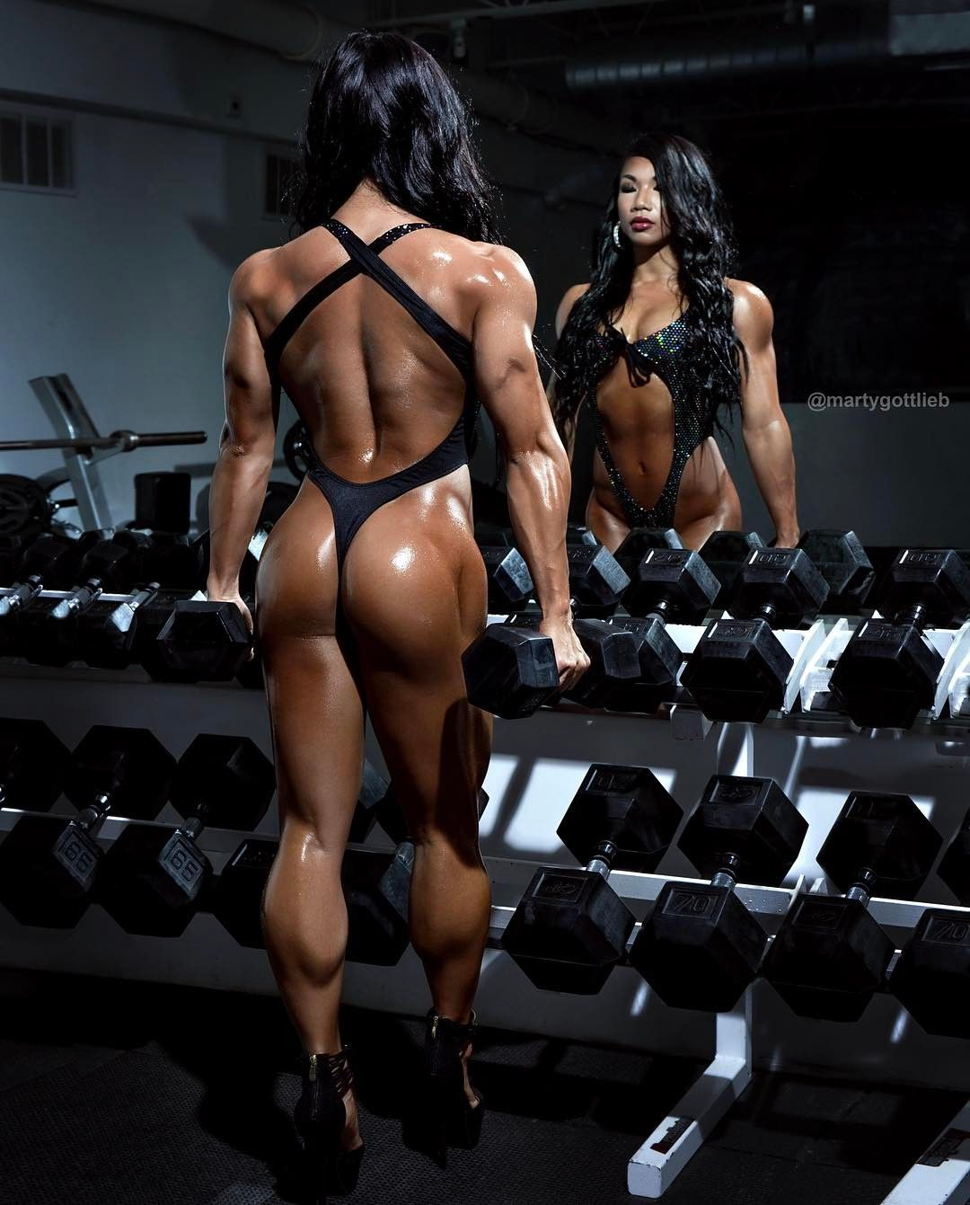 Have faced Female bodybuilders who spank consider