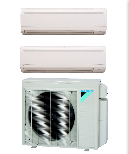 Daikin 18000 Btu In Minisplitwarehouse Com Lowest Price On Best Daikin 2 Zone 18k Mini Split Heat Pump A Air Conditioning Installation Ductless Mini Split Mini