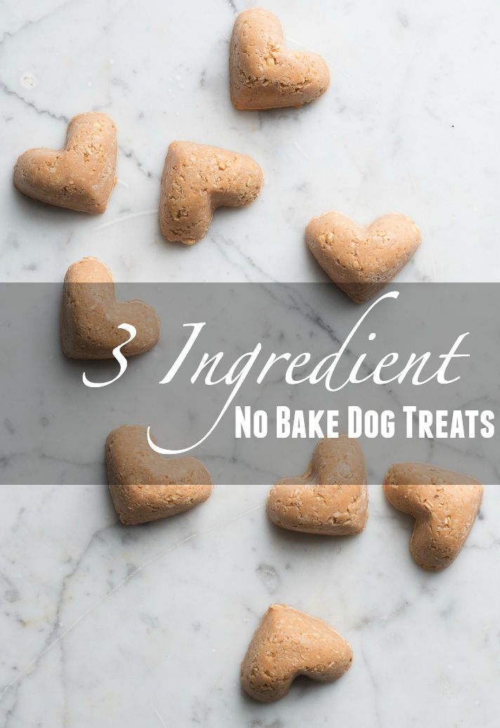 These Sweet Little Dog Treats Are So Quick To Make Come Together
