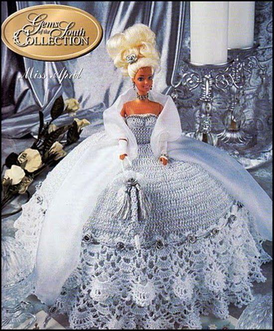 Excelente Patrones De Muñecas Barbie Ganchillo Patrón - Ideas de ...
