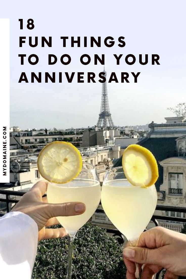 34 totally fun things to do on your anniversary 15th