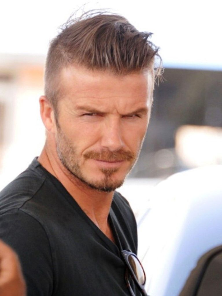 Best Hairstyles Mens Short 2013 2014 David Beckham Haircut Pictures