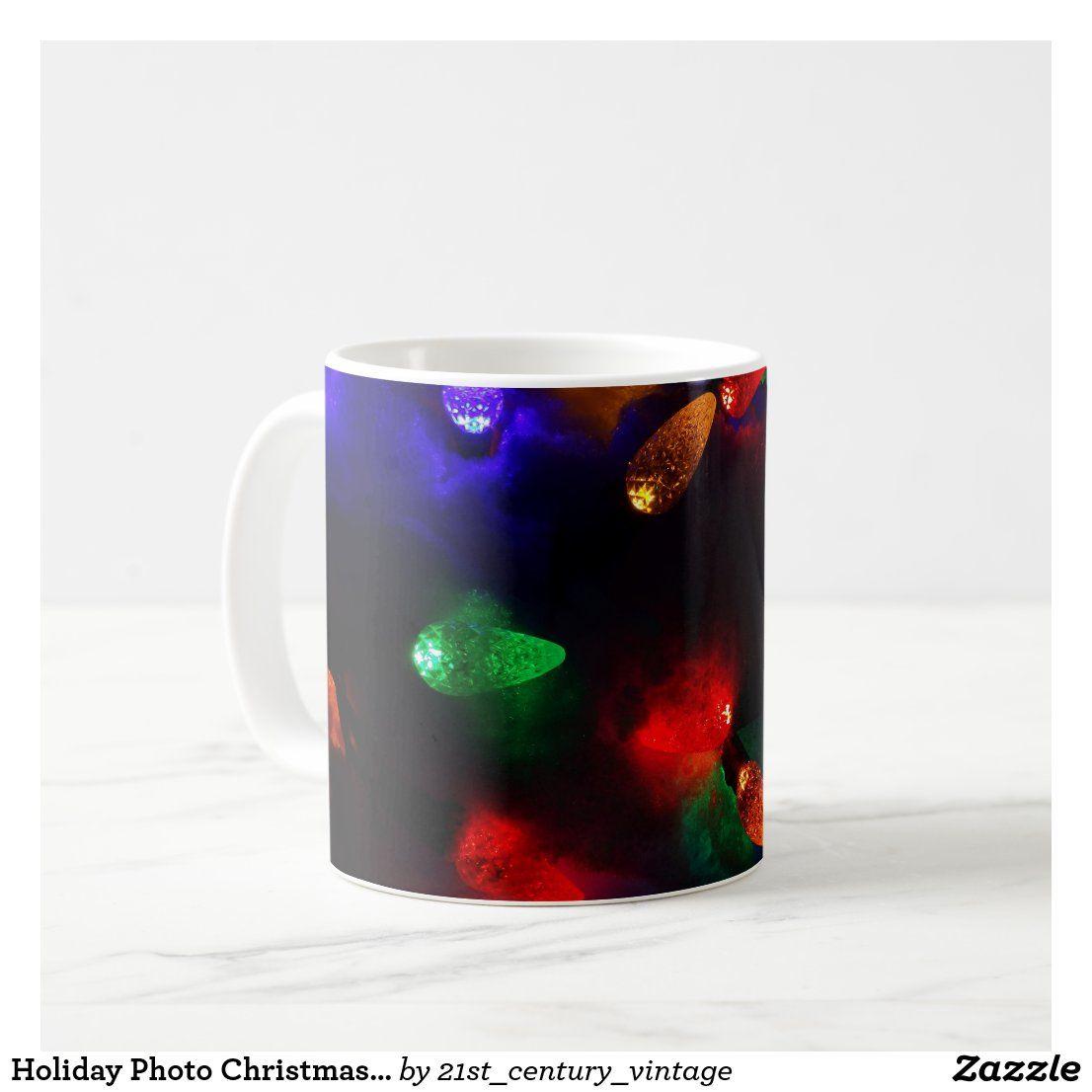 Holiday Photo Christmas Fairy Lights On Real Snow Coffee Mug Zazzle Com In 2021 Christmas Fairy Lights Christmas Fairy Fairy Lights Holiday christmas mug full hd wallpaper