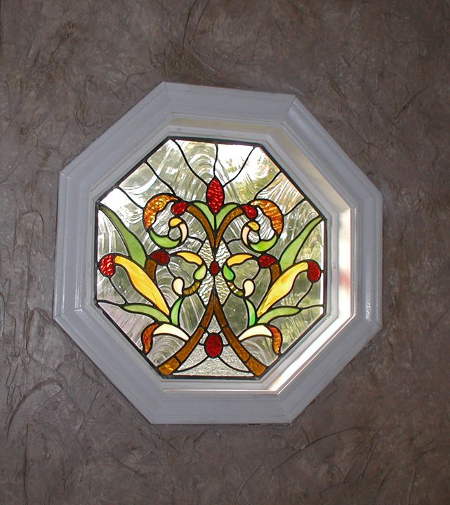 Transom Windows A Useful Design Element: Stained Glass Bathroom Window With Victorian And Art