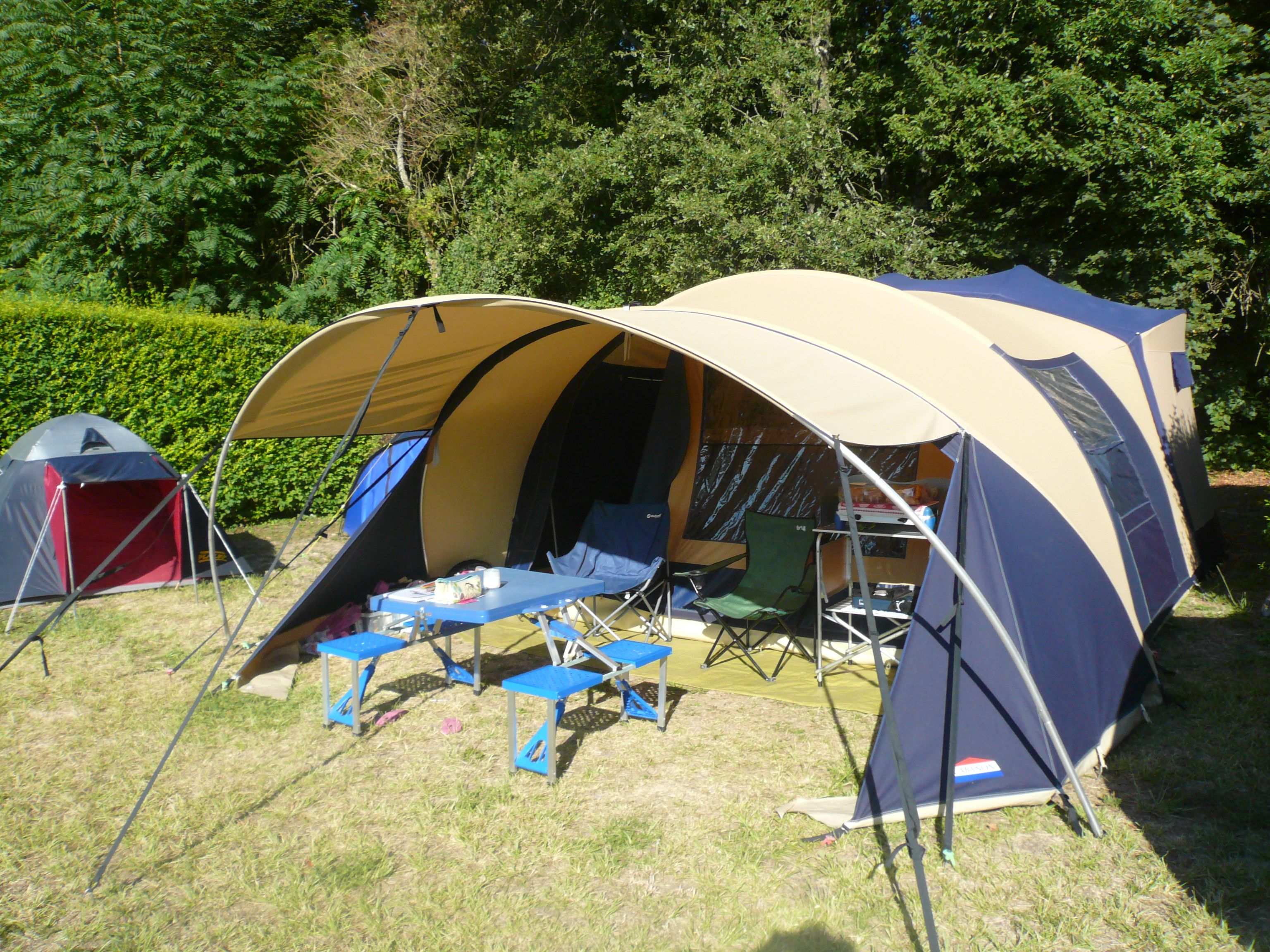 cabanon stratos.c&ing In central france. & cabanon stratos.camping In central france.   cabanon tent ...