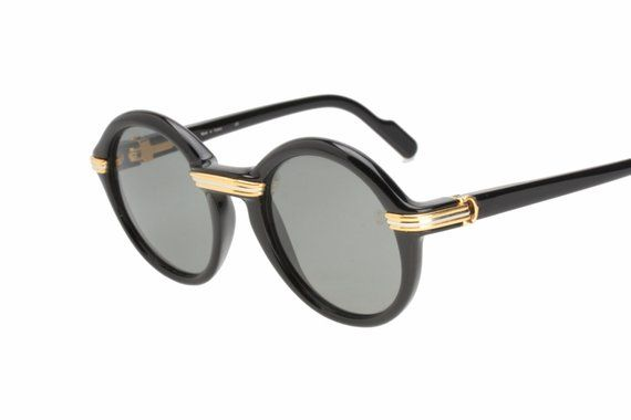 9f3c960734778 Cartier Cabriolet sunglasses hand made in France in the 1990s. A  collectable piece with no need for introductions