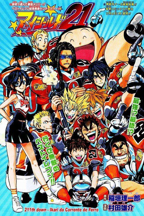Eyeshield 21 • 일러스트레이션, 일본만화 및 일러스트레이션 및 포스터