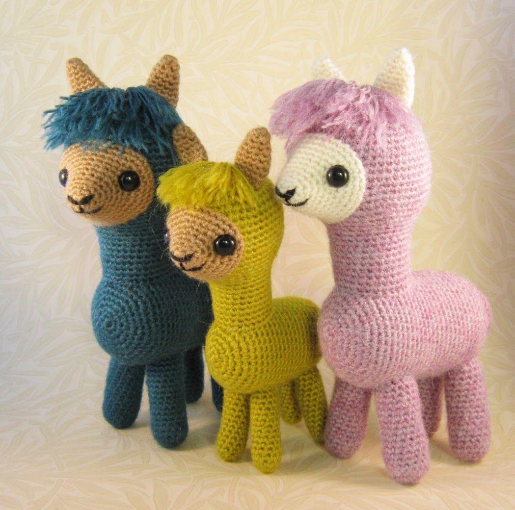 LucyRavenscar - Crochet Creatures: Alpaca Family Pattern | Amigurumi ...