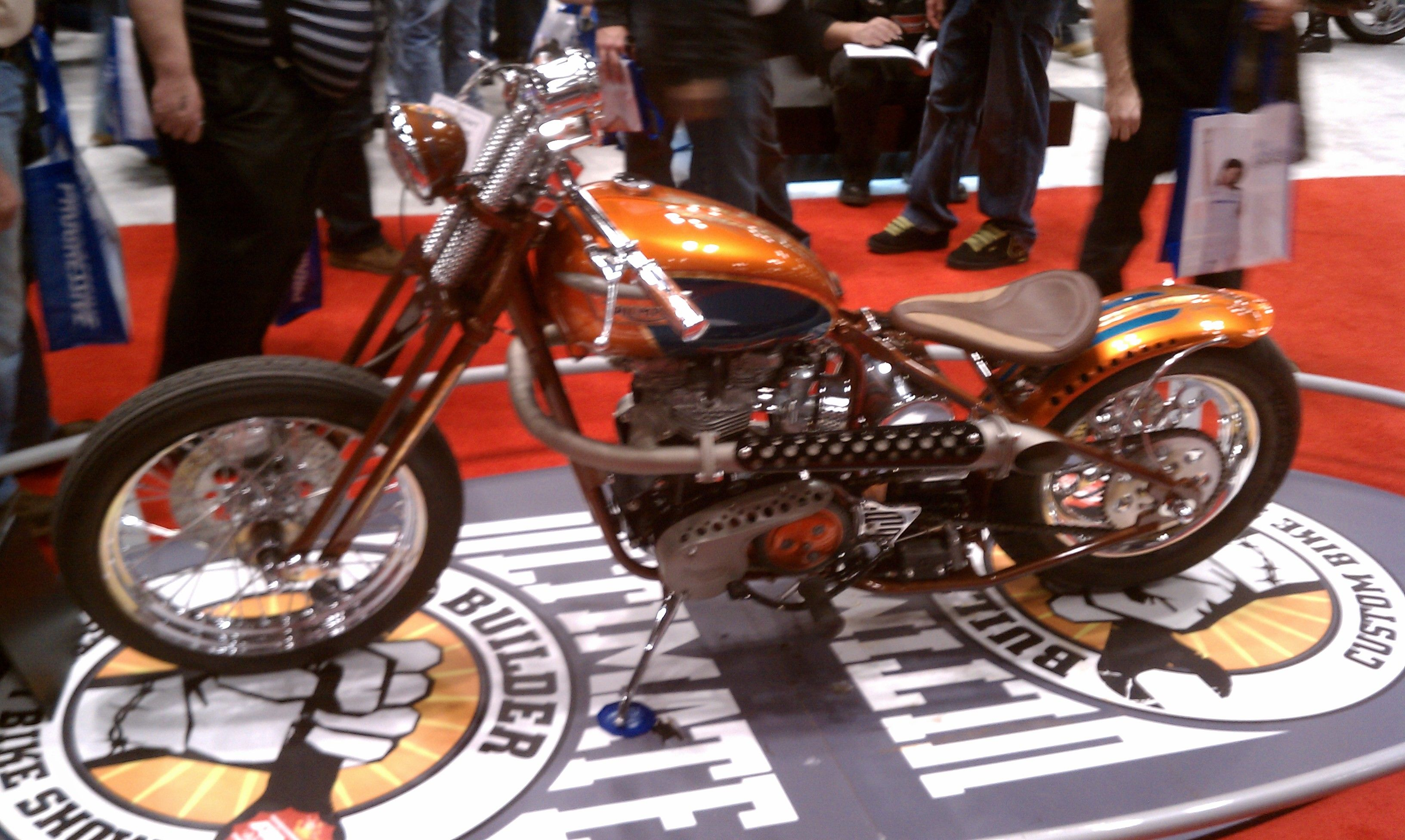 New York Motorcycle show awesome bike...