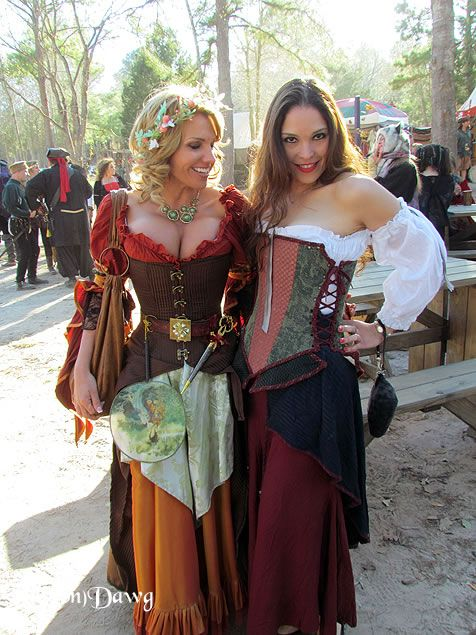 Hot Busty Medieval Girls