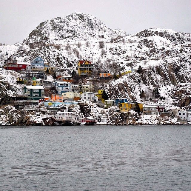 « Perched upon a cliff in St. John's, Newfoundland lies the colourful and historical neighbourhood of The Battery. Photo by @dkclarke #exploreNL… »