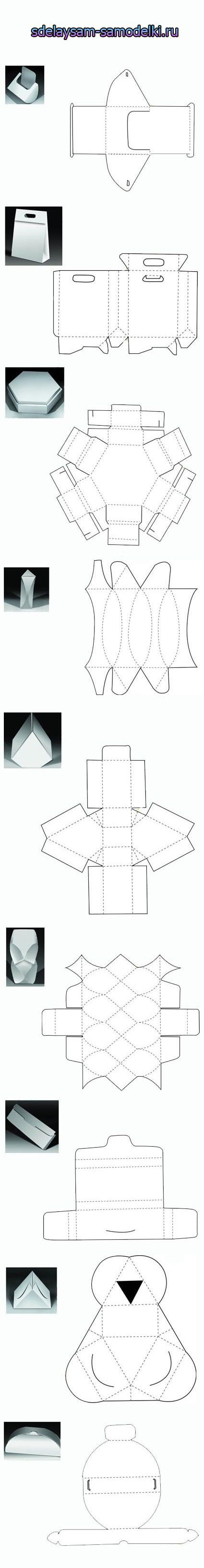 Do it yourself gift boxes cajas pinterest box gift and origami do it yourself gift boxes solutioingenieria Images