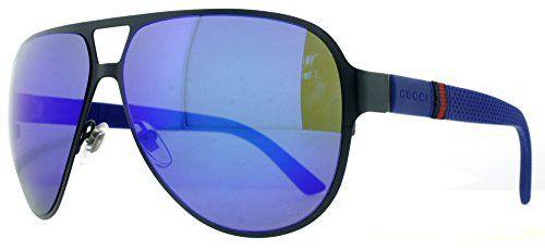 fe66da0fb1d27 Gucci 2252 S Sunglasses Navy Semi Matte   Blue  186.10 Model  GG 2252