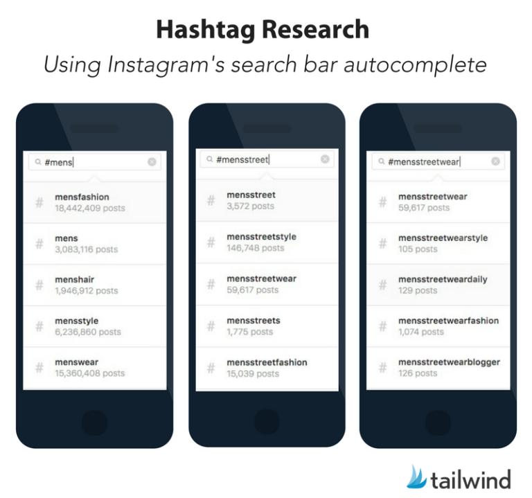 Instagram Search Bar